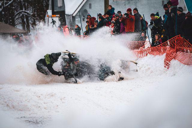 Rossland Winter Carnival Bobsled Race